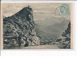 SAURAT : Roche Des Tretchès, Vue Sur Banat, Surba, Tarascon - Très Bon état - Otros Municipios