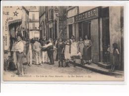 MARSEILLE : Un Coin Du Vieux Marseille, La Rue Bouterie - Très Bon état - Vieux Port, Saint Victor, Le Panier