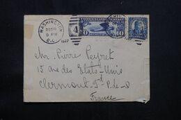 ETATS UNIS - Enveloppe De Washington Pour La France En 1927 - L 71816 - Briefe U. Dokumente