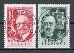 BELGIE: COB 976/977 Mooi Gestempeld. - België