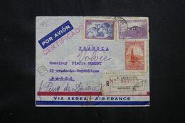 ARGENTINE - Enveloppe En Recommandé De Buenos Aires Pour La France En 1940 - L 71830 - Briefe U. Dokumente