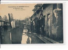 GISORS : Inondations De 1910, Rue Des Argilières - Très Bon état - Gisors