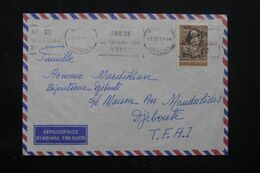 GRECE - Enveloppe De Athènes Pour Djibouti En 1970  - L 71835 - Briefe U. Dokumente