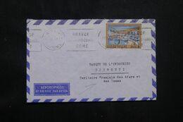 GRECE - Enveloppe De Athènes Pour Djibouti En 1969  - L 71836 - Briefe U. Dokumente