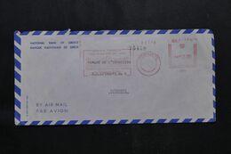 GRECE - Enveloppe Commerciale Pour Djibouti En 1966, Affranchissement Mécanique  - L 71837 - Briefe U. Dokumente