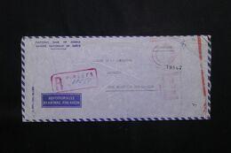 GRECE - Enveloppe Commerciale En Recommandé  De Piree Pour Djibouti En 1966 - L 71839 - Briefe U. Dokumente