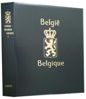 DAVO 2141 Luxus Binder Briefmarkenalbum Belgisch-Kongo - Stockbooks