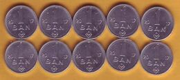 "2017 Moldova ; Moldavie ; Moldau  ""1 BAN ""   10 Coins (from The Bag) - Moldavia"