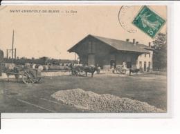 ST-CHRISTOPHE-de-BLAYE : La Gare - Très Bon état - Other Municipalities