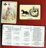 AIR FRANCE LA MODE PARISIENNE JEUX DE 52 CARTES A JOUER EN SUPERBE ETAT FABRICANT DUSSERRE - Playing Cards