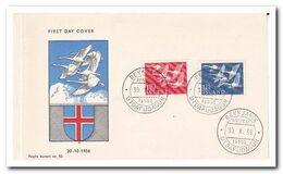 IJsland 1956, FDC Unused, Birds, Europe - FDC
