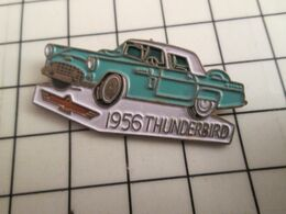 715c Pins Pin's / Rare & Belle Qualité THEME AUTOMOBILES / Grand Pin's FORD THUNDERBIRD 1956 - Ford