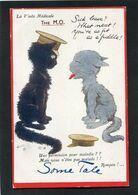 CPA - Illustration - La Visite Médicale - Une Permission Pour Maladie ? - Mais Vous N'êtes Pas Malade !! - Oorlog 1914-18