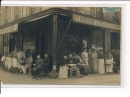 PARIS : 10ème Arrondissement, Plaque Avenue Richerand, Restaurant - état - District 10