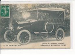 LE NEUBOURG : Spécialité De Camionnettes Normandes, Carrosserie BONDEVILLE FRERES - état - Le Neubourg