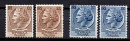 Italie YT N° 684/685 (2) Neufs ** MNH. TB. A Saisir! - 1946-.. République