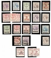 Italie Petite Collection De Timbres De Bienfaisance Neufs/oblitérés Années 1920. B/TB. A Saisir! - Italie
