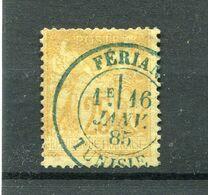 !!! 25 C SAGE CACHET DE FERIANA (TUNISIE) - Marcofilia (Sellos Separados)