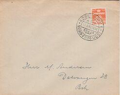 DANEMARK 1947 LETTRE INTERIEURE - 1913-47 (Christian X)