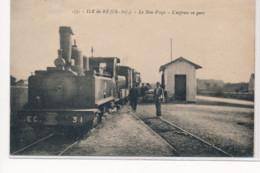 ILE DE RE : Le Bois-plage, L'express En Gare - Tres Bon Etat - Ile De Ré