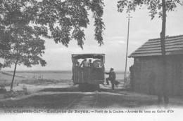 Environs ROYAN : Foret De La Coubre, Arrivée Du Tram Au Galon D'or - Tres Bon Etat - Autres Communes
