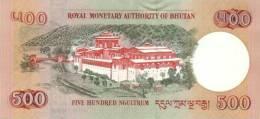 BHUTAN P. 33a 500 N 2006 UNC - Bhutan