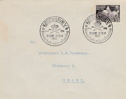 DANEMARK 1951 LETTRE INTERIEURE - Covers & Documents