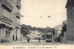 MARSEILLE : Promenade De La Corniche (endoume), Tramway - Tres Bon Etat - Otros