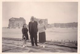 Knokke - Albert-Strand Plage - Foto 6 X 9 Cm - Anonieme Personen
