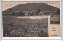 PLAINE POUTAY Et SAINT BLAISE - Très Bon état - Autres Communes