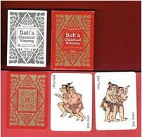 JEU DE 54 CARTES A JOUER THEME LE MAHABHARATA INDE HINDOUISME INDONESIE BALI - Carte Da Gioco