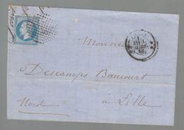 Oblit. - Type Bouchon - CàD De Paris - 1° Mars 1852 - 1849-1876: Klassik