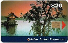 Australia - Telstra (Chip) - N Series 1998 Single Cards - House On Tazawa-ko Lake, Japan - Exp. 01.2001, 20$, Mint - Australië
