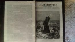 L'ILLUSTRATION 2300 BULGARIE/ SIAM/ COMTESSE DE LESSEPS/ CUIRASSE LE FORMIDABLE 26 MARS 1887 - 1850 - 1899