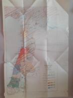 Carte Plan Population De La Syrie 1921 - Welt
