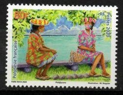 Polynésie Française 2020 - Covid 19, Vahinés Masquées - 1 Val Neuf // Mnh - Neufs