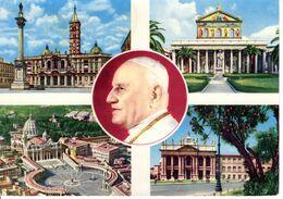 Italie Rome Roma Multi Vue Pape Munument Edifice Patrimoine Histoire Tourneux Sarthe - Panoramic Views