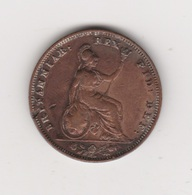 FARTHING GUILLAUME IV CUIVRE 1837 - Sonstige