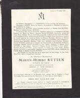 GEYSTINGEN OPHOVEN RUTTEN Martin-Hubert évêque De Liège Membre Académie Flamande 1841-1927 - Obituary Notices