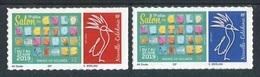 """TIMBRES** De 2019 Adhésifs De NOUVELLE-CALEDONIE - 19e Salon Des Collectionneurs Mairie De Nouméa - 7 Au 10 Juin 2019"""" - Unused Stamps"""