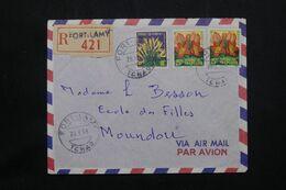 A.E.F. - Enveloppe En Recommandé De Fort Lamy En 1958 Pour Moundou - L 71896 - Storia Postale