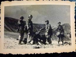 PHOTO WW2 WWII : FALLSCHIRMJAGER Camo _ LUFTWAFFE    //1.10 - Krieg, Militär