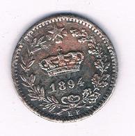 20 CENTESIMI 1894 ITALIE /6930/ - 1861-1946 : Regno