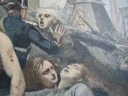 Le Petit Journal 1895 La Catastrophe Minière De Montceau Les Mines/ Felix Faure Prsdt République 'hopital Saint Antoine - 1850 - 1899