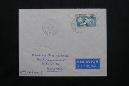 WALLIS ET FUTUNA - Enveloppe De Mata Utu Pour Nouméa En 1958 - L 71916 - Covers & Documents