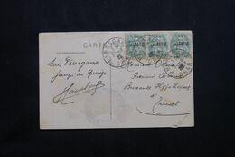ALGÉRIE - Affranchissement Type Blanc De Perregaux Sur Carte Postale ( Le Filtre ) En 1925 Pour Tiaret - L 71923 - Briefe U. Dokumente