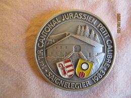 Suisse: Médaille 1er Tir Cantonal Du Jura Saignelegier 1983 - Professionals / Firms