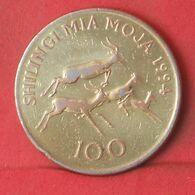 TANZANIA 100 SHILONGI 1994 -    KM# 32 - (Nº37671) - Tanzanie