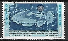 ETHIOPIE   -    1972.    Y&T N° 642 Oblitéré.    Nations Unies - Etiopia