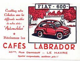 Buvard Cafes Labrador - Automotive